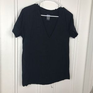 Tops - 3 FOR 25 | Black distressed t shirt size small